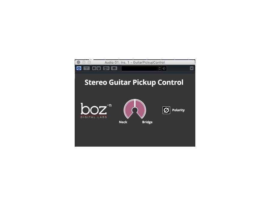 Boz Digital Labs Guitar Pick Up Control