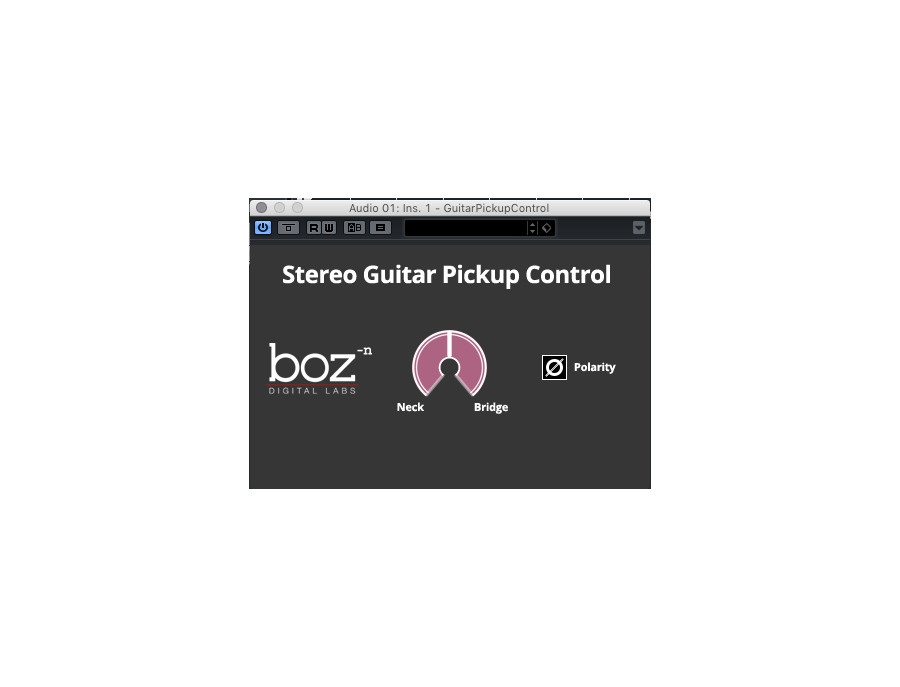Boz Digital Labs Guitar Pick Up Control