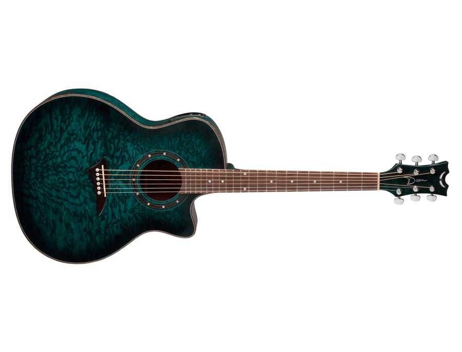 Dean Exotica Quilted Ash Acoustic-Electric 6 string guitar