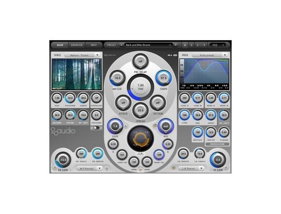 2CAudio Aether Algorithmic Reverb Plugin