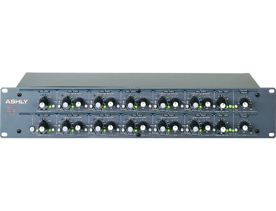 Ashly PQX 572 Stereo 7 Band Parametric EQ