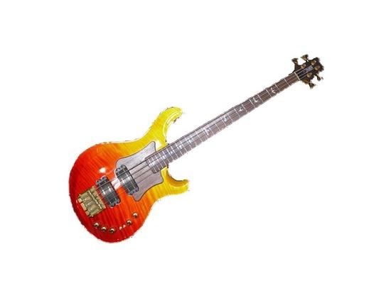 PRS Private Stock Gary Grainger 4 strings Bass Tequilla Sunrise