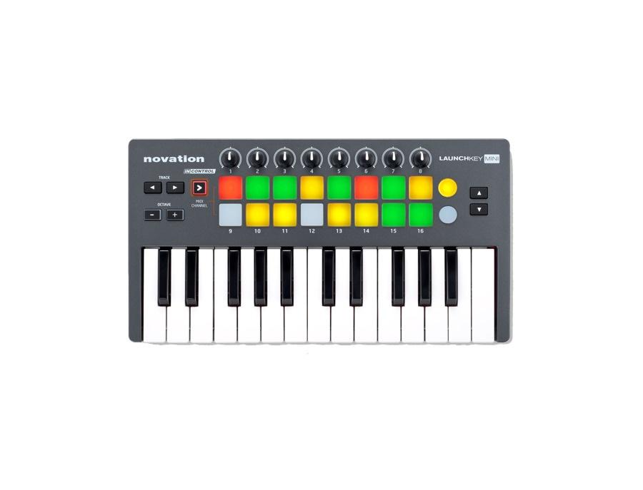 Novation Launchkey Mini 25-Key USB Controller Keyboard