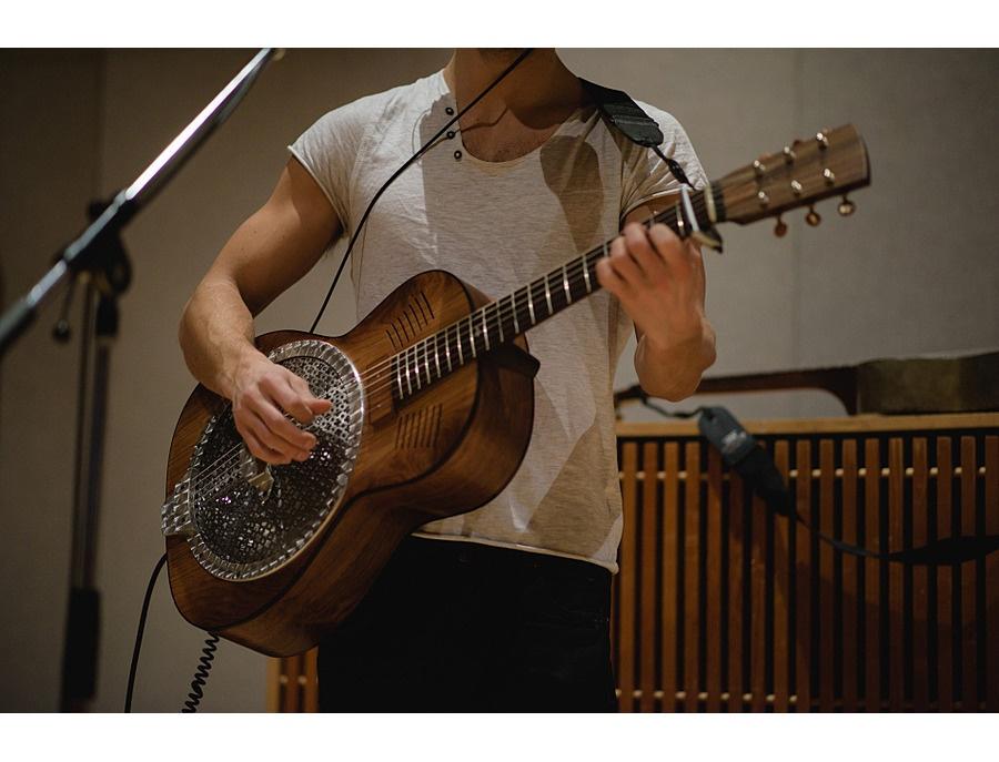 Pete turner guitars handmade resonator xl