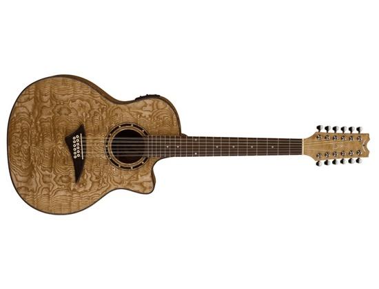 Dean Exotica Quilt Ash A/E 12 String Guitar - GN