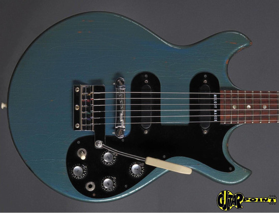 Gibson Melody Maker Pelham Blue Metallic 1965