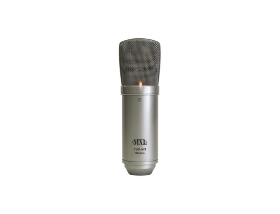 MXL USB.007 Large Gold Diaphragm Stereo Condenser Microphone
