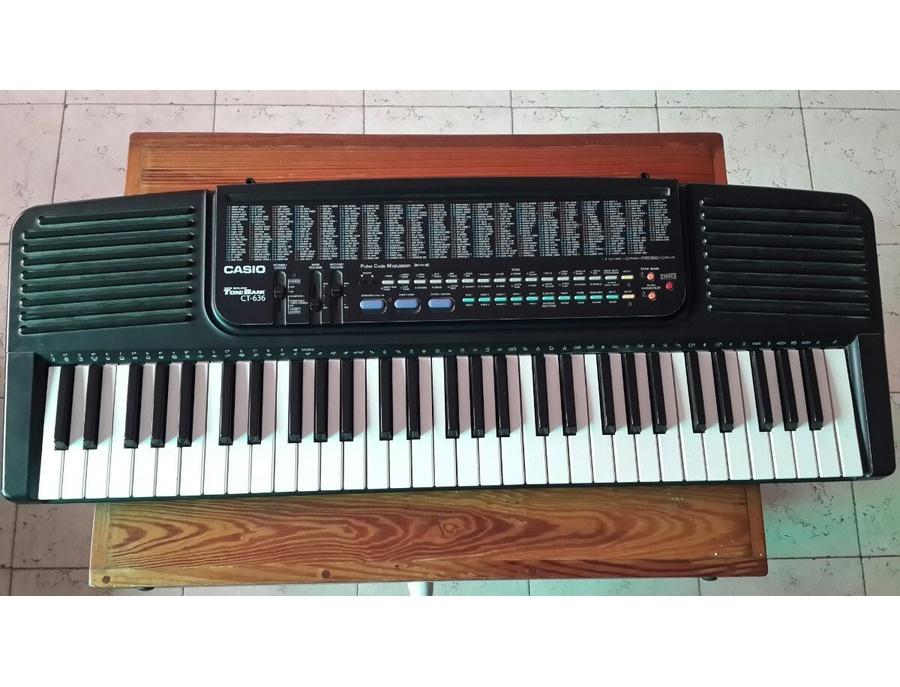Casio ct 636 xl