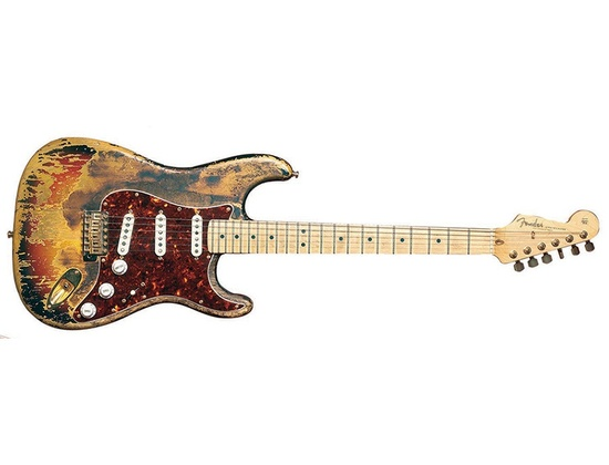 Jimi Hendrix Sunburst Fender Stratocaster