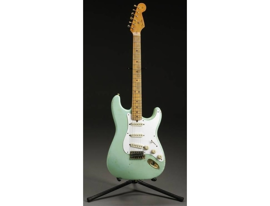 "1980s Fender Stratocaster ""Classic Strat"" Re-Issue Model Surf Green"