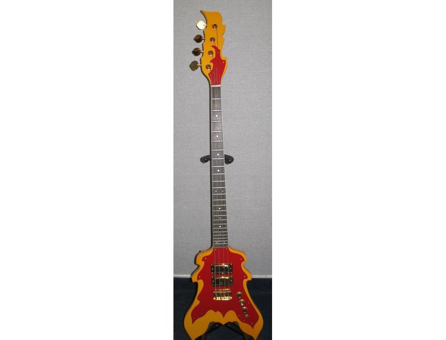 "Custom Peter Cook ""Flame"" Bass"