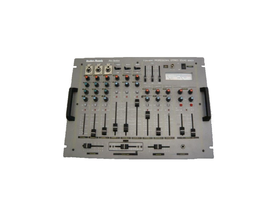 Radio Shack PSM-8080 Professional Stereo Sound Mixer