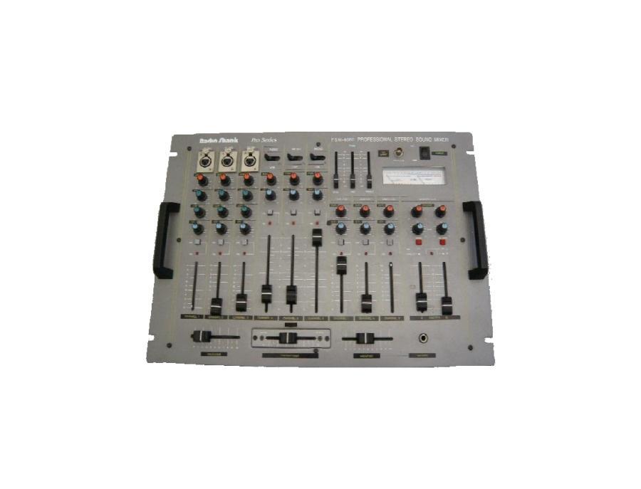Radio shack psm 8080 professional stereo sound mixer xl