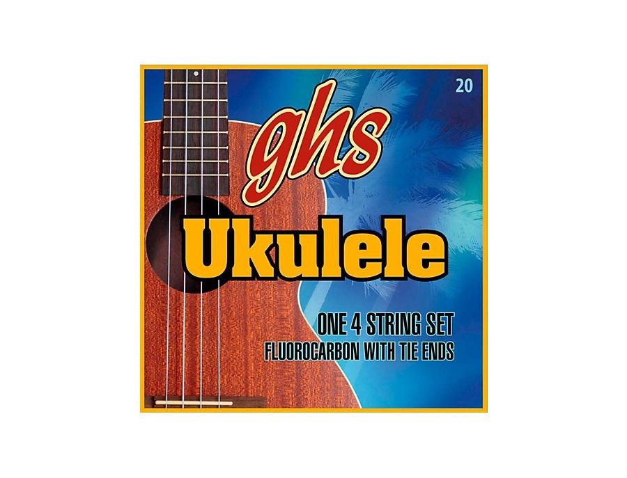 GHS Fluorocarbon Soprano/Concert D Tuning Ukulele Strings