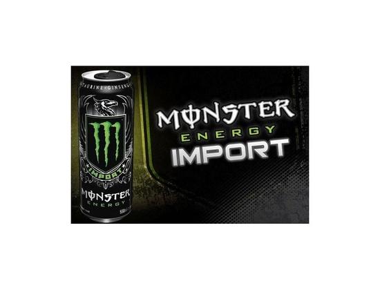Monster Energy Drink Import