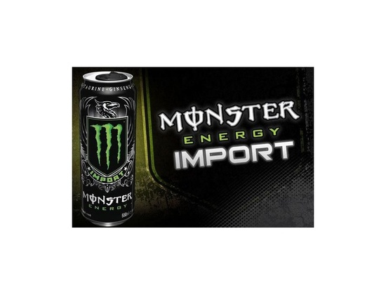 Monster Energy Drink Import
