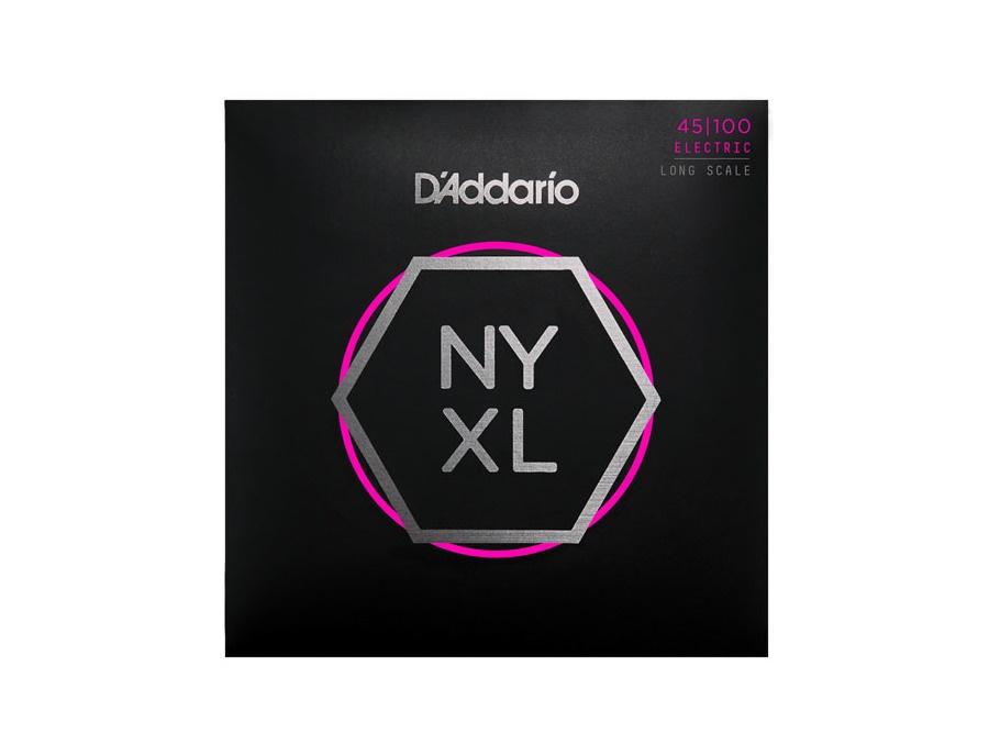 D'Addario NYXL45100 Nickel Wound Bass Guitar Strings, 45-100