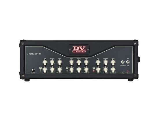 DV Mark Triple 6 40W All-Tube Guitar Head
