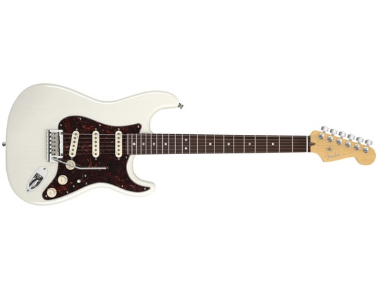 fender american deluxe stratocaster ash white blonde rw reviews prices equipboard. Black Bedroom Furniture Sets. Home Design Ideas