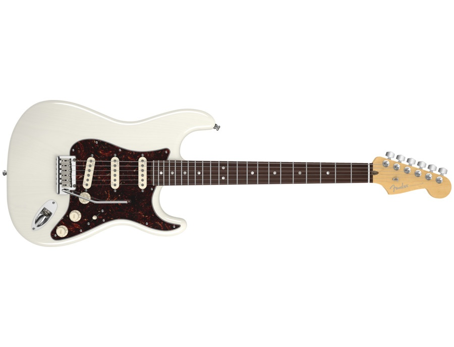 Fender American Deluxe Stratocaster Ash White Blonde (RW)