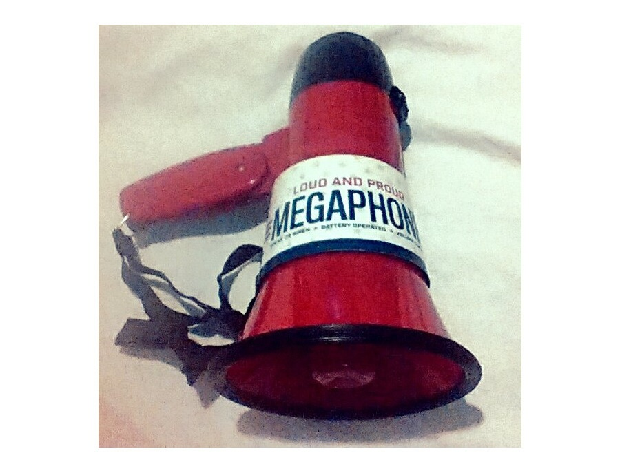 Randa Accessories Megaphone (Loud and Proud - Tailgate Ready)