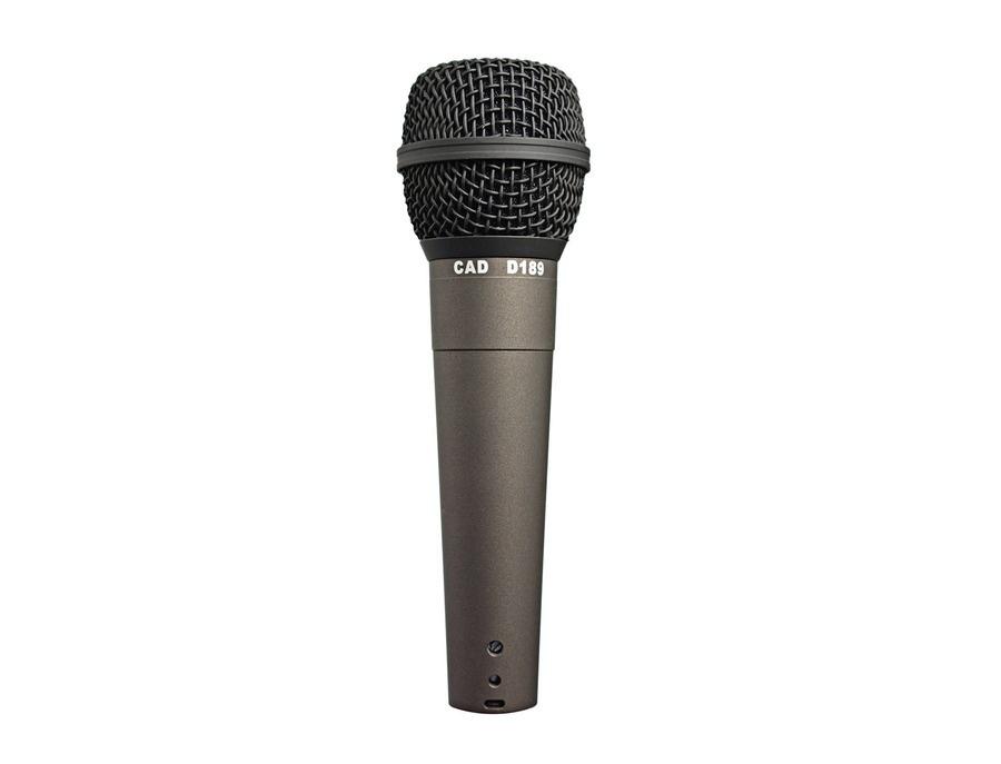 CAD D189 Supercardioid Dynamic Microphone