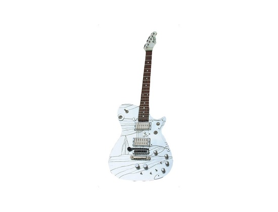 Manson Laser Electric Guitar
