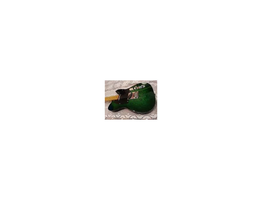 Green Paisley Telecaster