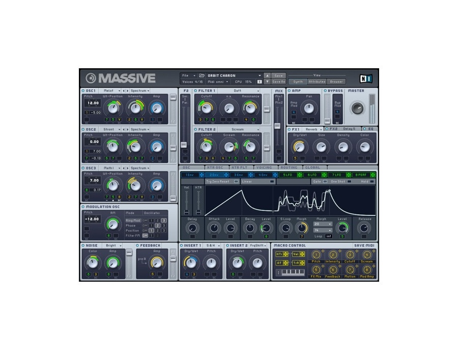 Native instruments massive synth xl