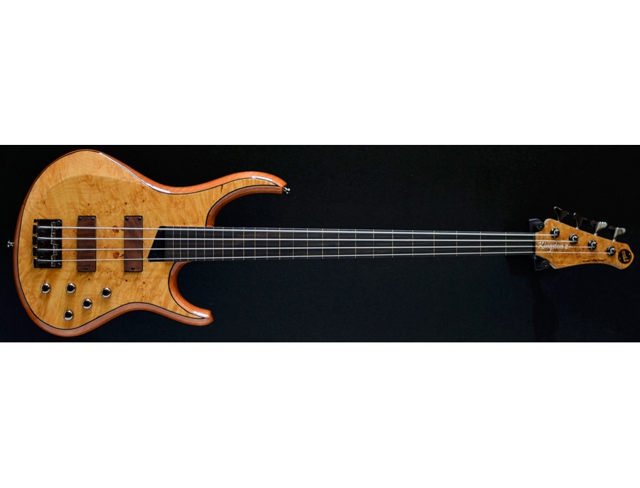 MTD KZ 4 Natural gloss/Fretless 4 string