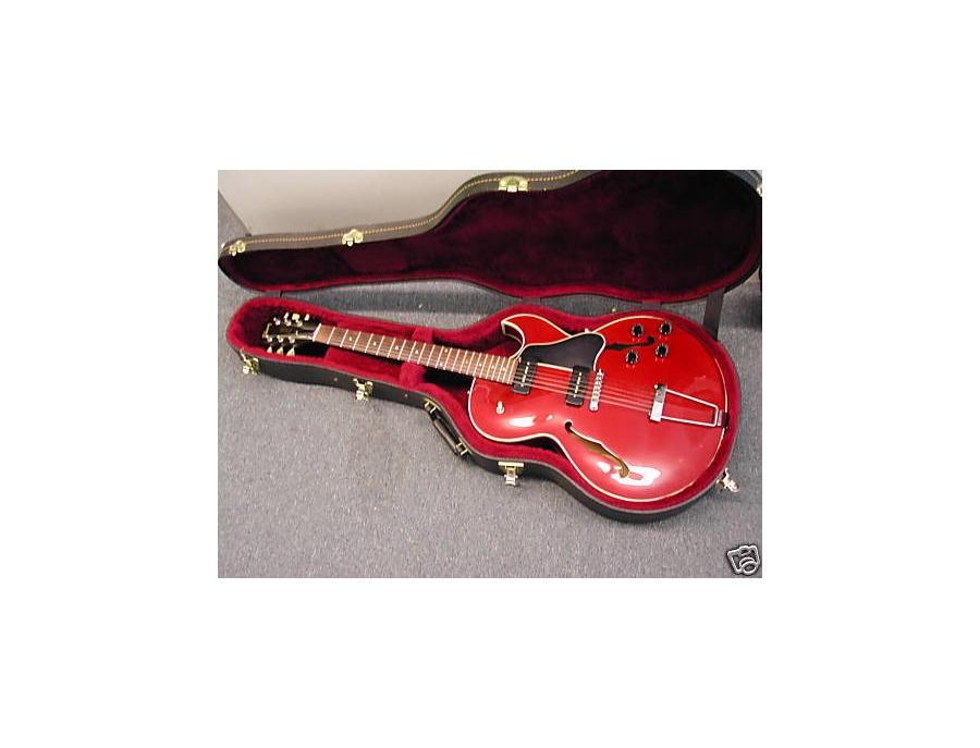 1993 Gibson ES-135 P90 Cherry Red