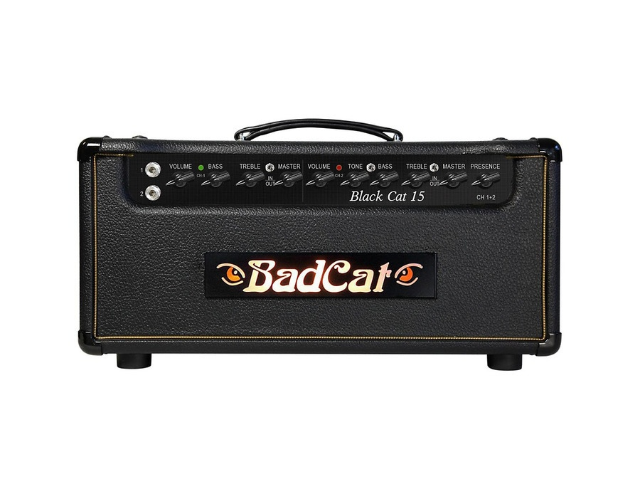 Bad cat black cat 15w guitar head xl