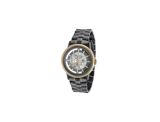 Kenneth Cole New York Automatic Watch With Hematite Link Strap