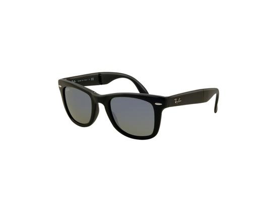 Ray-Ban RB4105 601S/68 Folding Wayfarer Sunglasses