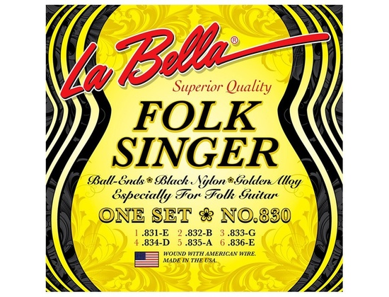 La Bella Folk Singer No. 830