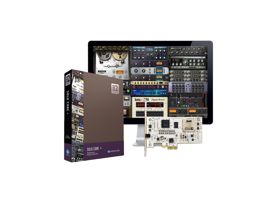 Universal audio uad 2 solo core pcie dsp accelerator package xl