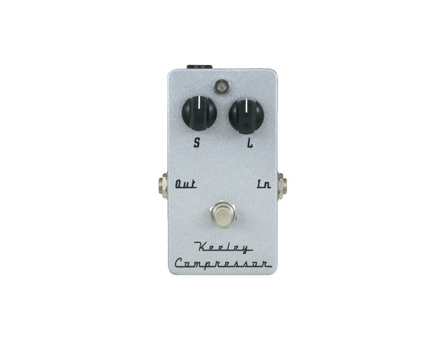 Keeley compressor 2 knob effect pedal xl