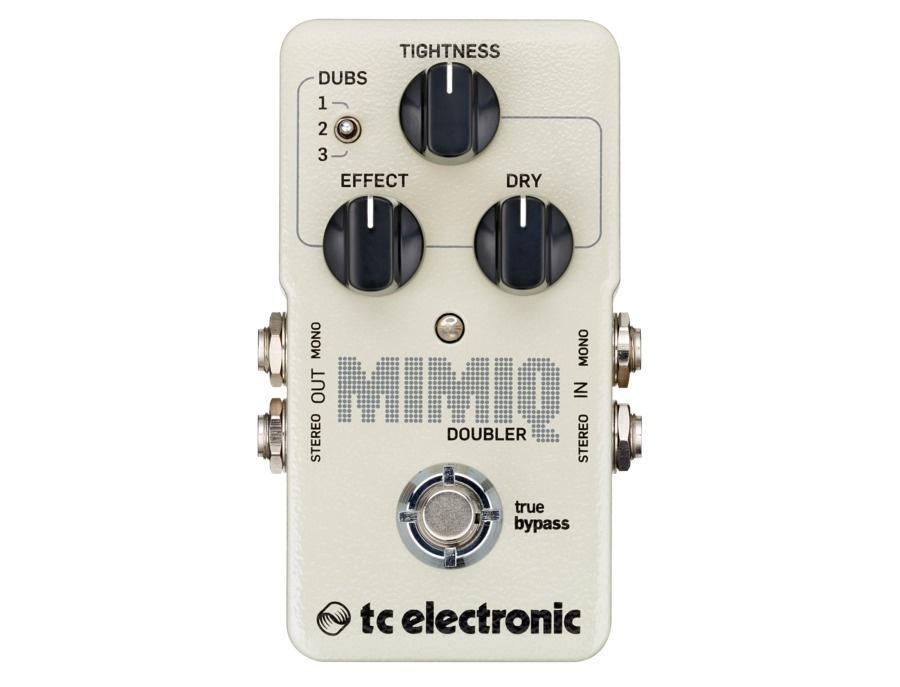 Tc electronic mimiq doubler guitar pedal xl