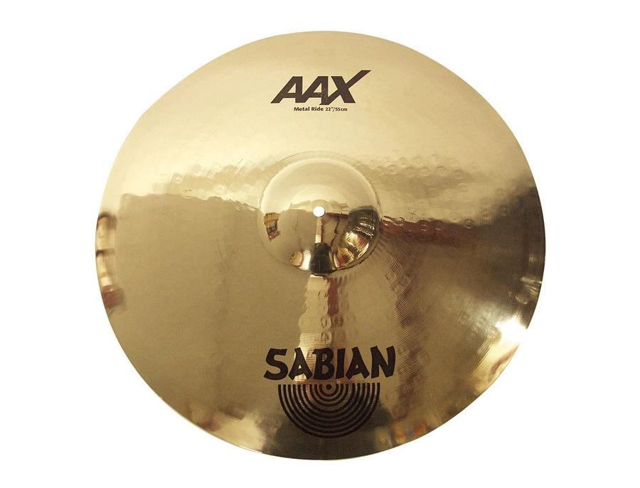 "Sabian AAX 22"" Metal Ride Brilliant"