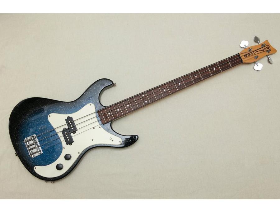 Danelectro Rumor Bass - Blue Sparkle Burst