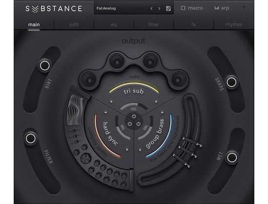 Output - Substance Bass Engine