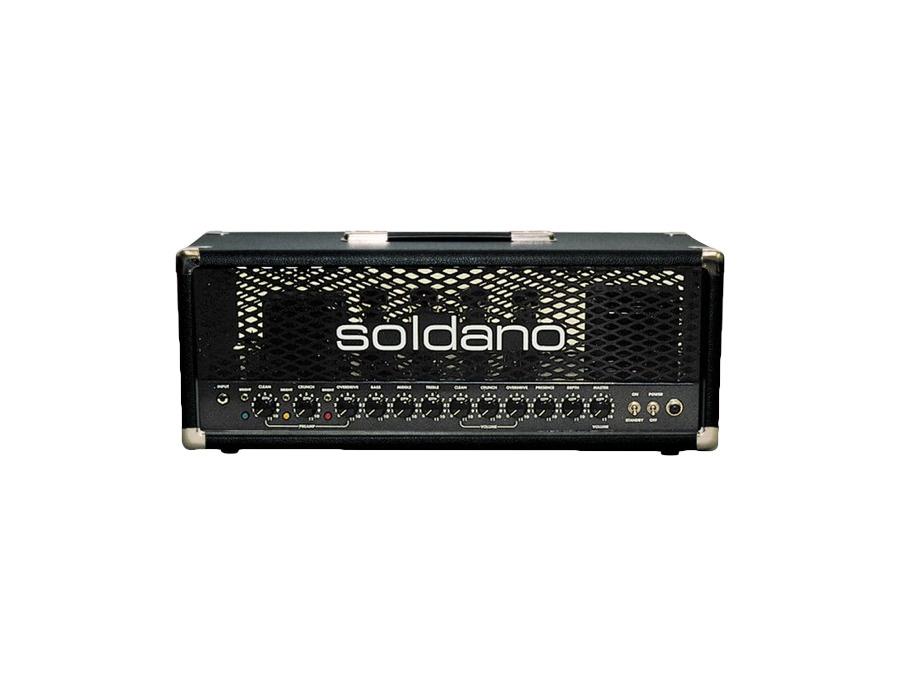 Soldano decatone 100 watt triple channel amp head xl