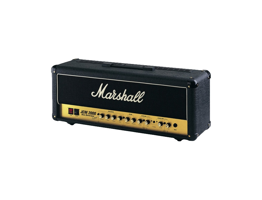 Marshall jcm 2000 dsl 100 dual super lead 2 channel 100 watt guitar amp head xl