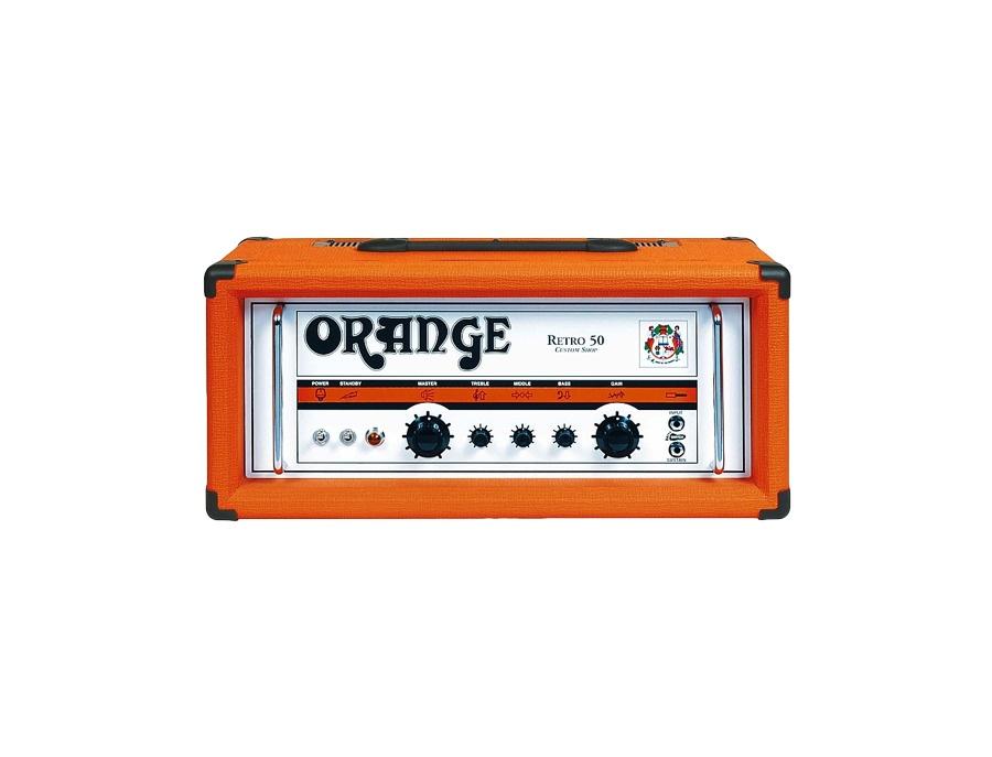 Orange Amplifiers Retro 50 50-Watt Vintage Tube Guitar Amp Head