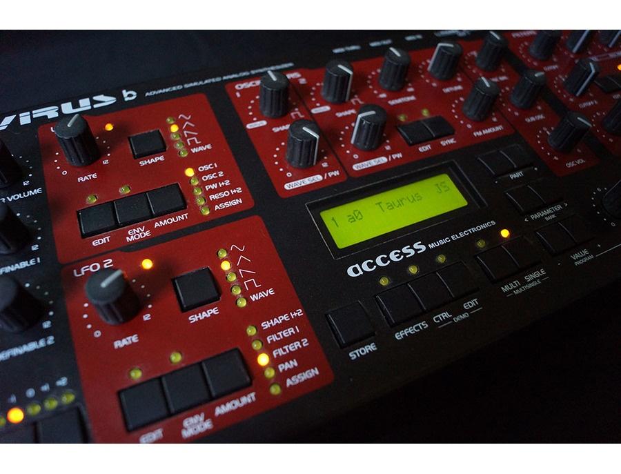 Access virus b synthesizer xl