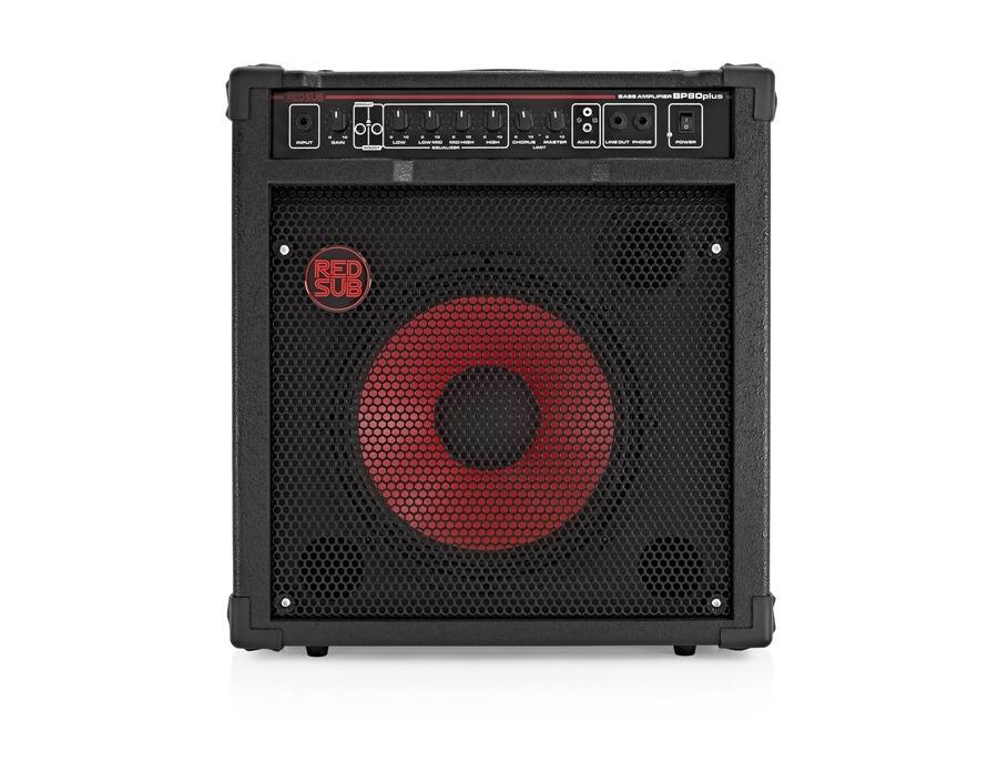RedSub BP80plus 80W Bass Guitar Amplifier