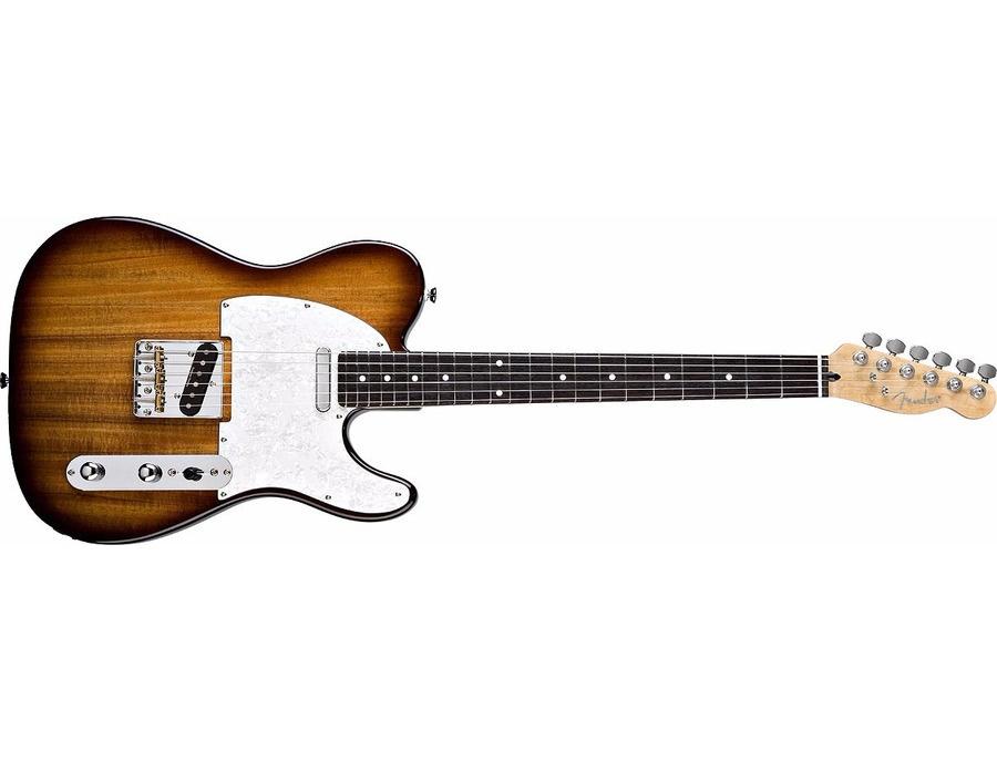 Fender Special Edition Koa Telecaster Electric Guitar