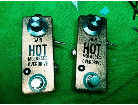 Tone Hungry Effects Hot Molasses Overdrive