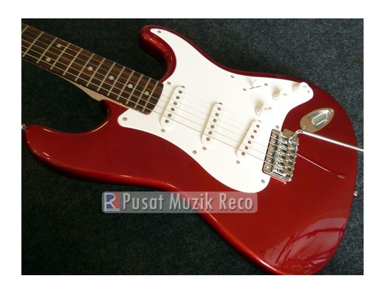 Squier Affinity Stratocaster Red Thin Headstock
