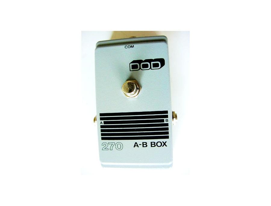 DOD 270 A/B Box